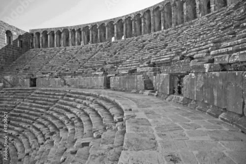 Historical roman theater