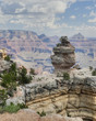 Walhalla Plateau & Vishnu Temple Formations in Grand Canyon