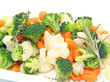 Brocoli, carottes,choux fleur