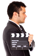 Man casting for a tv role