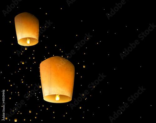 Sky lanterns - 41509446