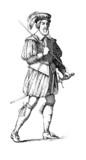A soldier : Garde Suisse - 17th century