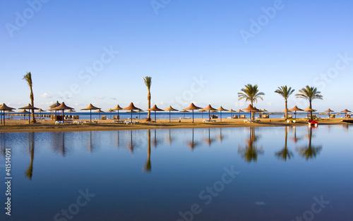 Poster Egypte Beach in Egypt