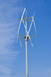 Vertical axis silent wind turbine poster