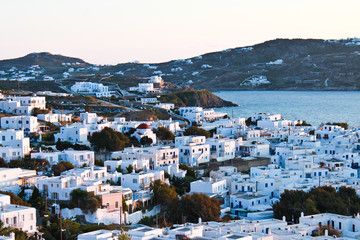 Mykonos town,Greece