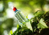 Bottled spring water - purified water poster