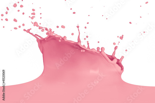 Leinwandbild Motiv splashing milk