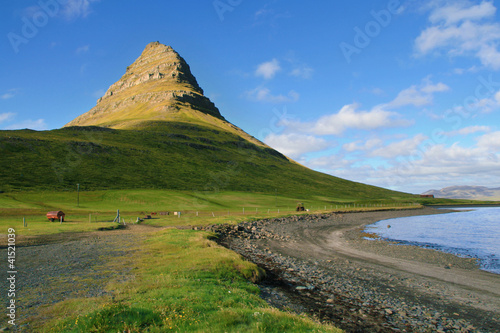 Coastal mountain in Snaefellsnes