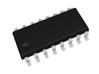 Isolated SOIC 16 N