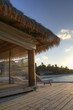 Pavilion / Jetty by the sea (Maldives / Malediven)