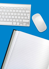 blue desktop