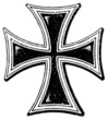 A cross of the Teutonic Order