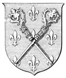 Coat of Arms Order of Canons Regular of Premontre poster