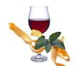 Rotwein mit Nudeln