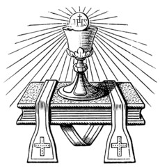The emblem of the priest.