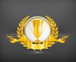 Trophy, vector