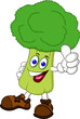 Broccoli cartoon