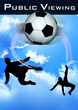 Fußball-Live-Poster