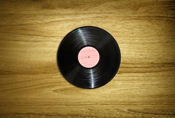 record on desk