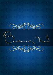 Mavi restorant kapağı