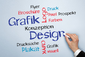 Grafik Design Tag Cloud