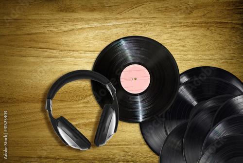 retro desk music