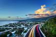 Baie de Saint-Paul au crépuscule - La Réunion