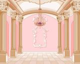 Fototapety Ballroom of magic castle