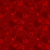 Hearts Texture - Repetitive Pattern poster