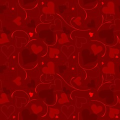 Hearts Texture - Repetitive Pattern