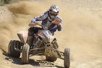Quad riding