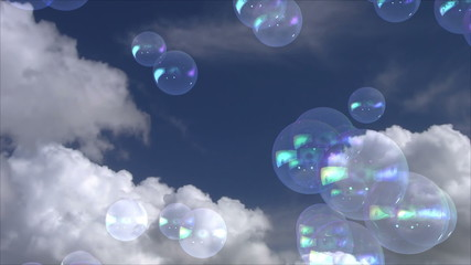 Bubbles particles 09