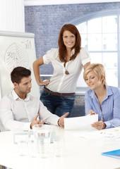 Businessteam in meeting room