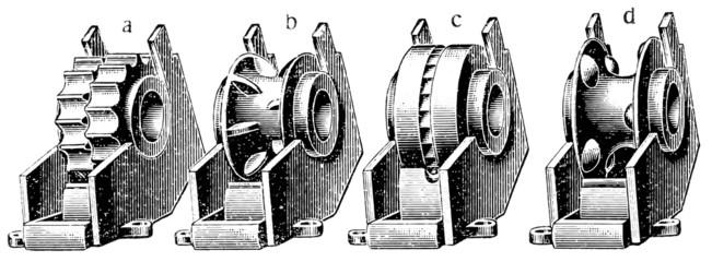 Thrust wheel planter