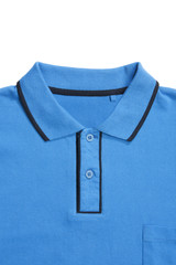 Part of man polo shirt