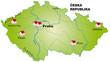 Internetkarte von Tschechien