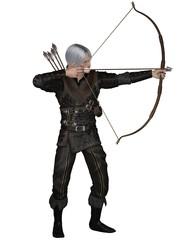 Old Medieval or Fantasy Archer