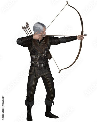 Old Medieval or Fantasy Archer
