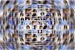 Social media expansion background