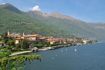 der bekannte Urlaubsort Cannobio am Lago Maggiore