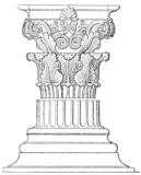 Corinthian order. Choragic Monument of Lysicrates. Athens poster