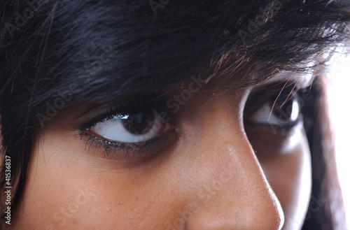 Asian girl eyes