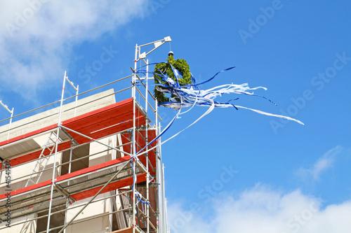 Richtkranz im Wind