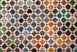 Tile decoration, Alhambra palace, Spain - 41542893