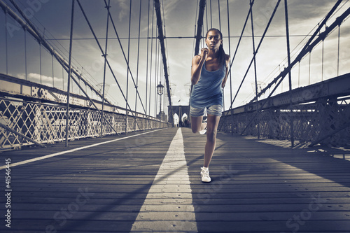 Jogging in New York