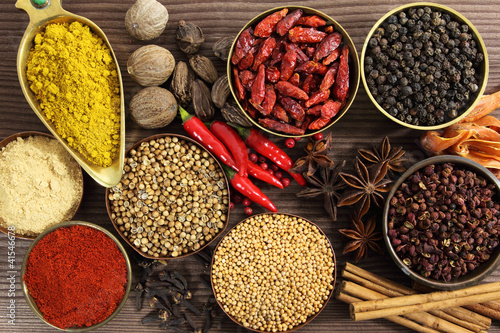 Spices and herbs - 41546678