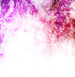 Purple paint blots background