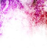 Purple paint blots background