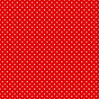 Seamless Pattern Dots Red/White