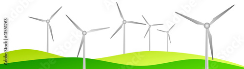 Windpark Windrader
